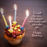 WhatsApp Geburtstagswünsche und Grüße mit Geburtstagsbildern