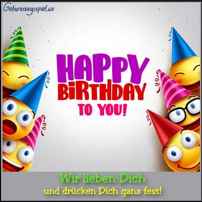 Geburtstagsbilder lustig für Kinder
