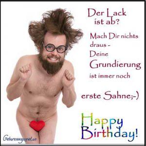 Lustige Geburtstagssprüche Männer
