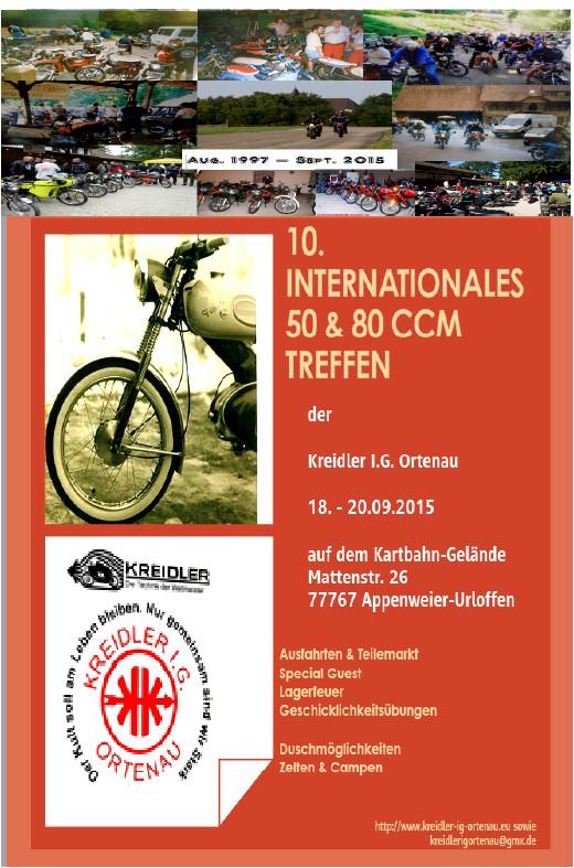Flyer 2015 - 10.int. 50 & 80 ccm Treffen in Urloffen