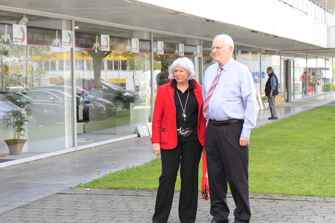 Unsere Gastgeber beim Haller Frühling 2013. Marianne & Ernst Gunst