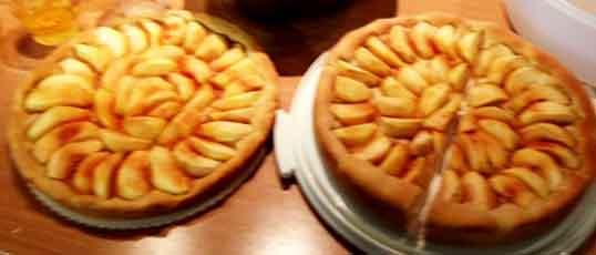 12.10.16. aber auch wegen des leckeren Apfelkuchens