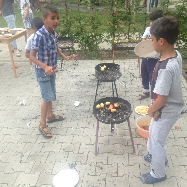29.07.16. Grillfest zu Heidys Abschied