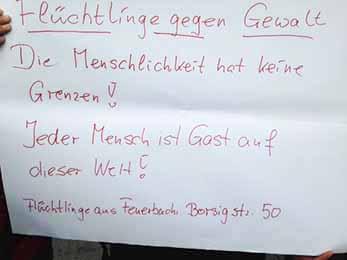 16.01.16. Demonstration auf dem Stuttgarter Schlossplatz