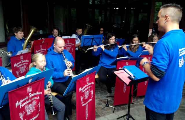 16.09.16. Das Jugendorchester des Musikvereins Stadtorchester spielt