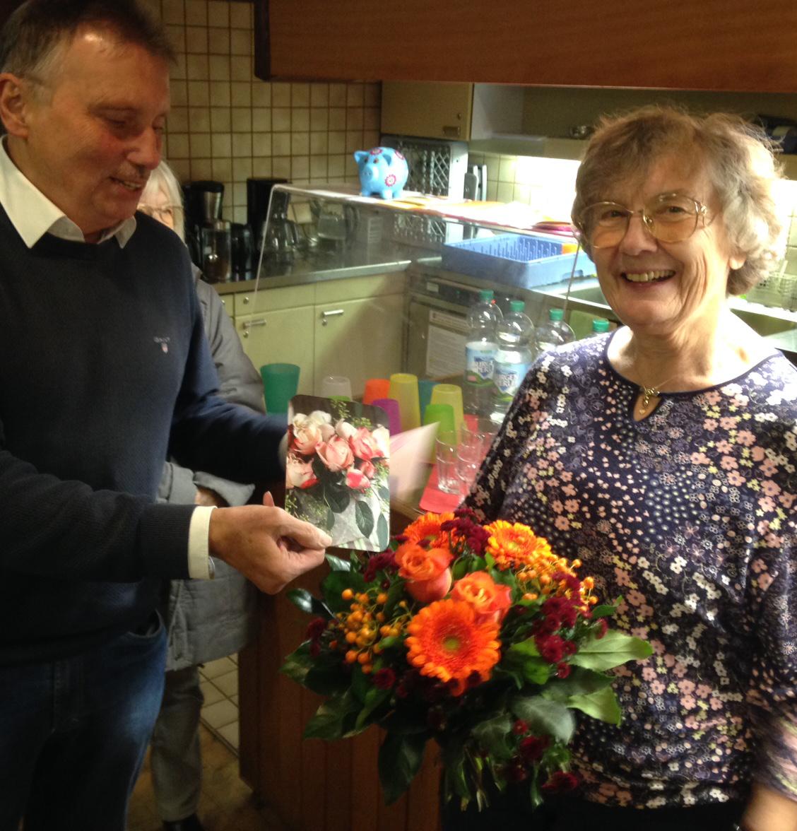 Wir gratulieren Getrud Dorn zum 80. Geburtstag und wünschen alles Gute!