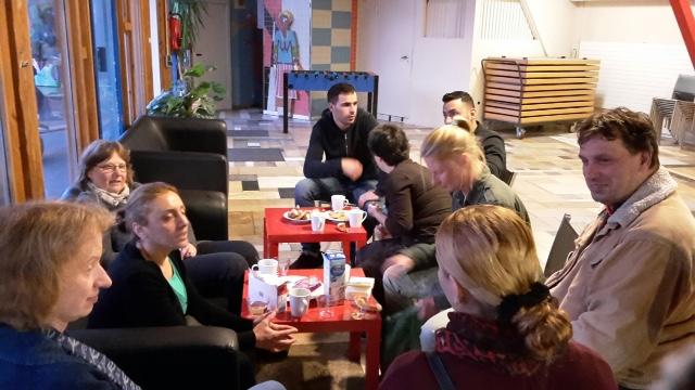 21.09.16. Gedankenaustausch beim Treffpunkt International
