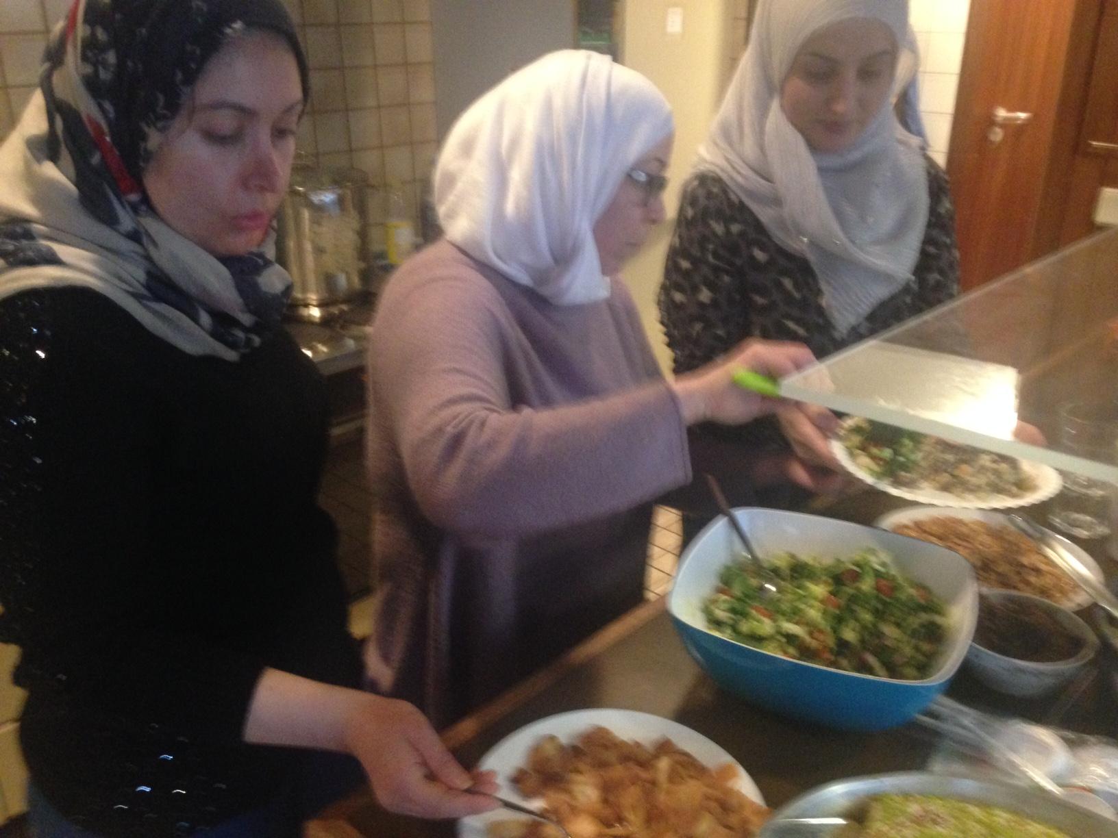 Syrische Frauen