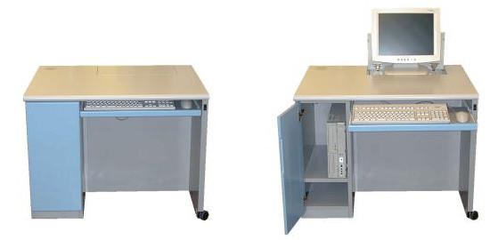 モニタ昇降式パソコンデスク