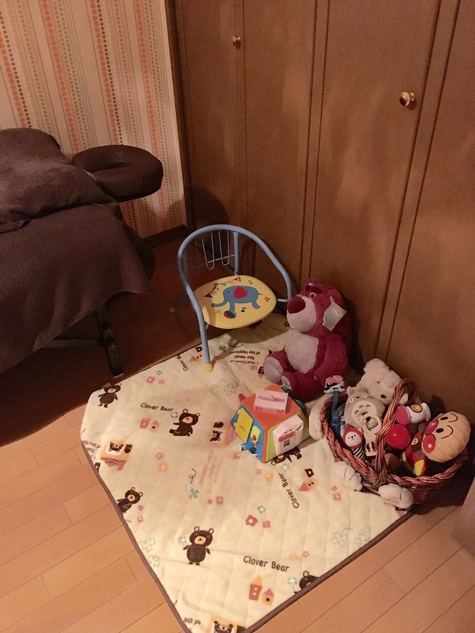 おもちゃもご用意しています。