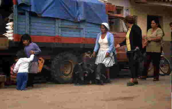 Markt, Samaipata, Bolivien