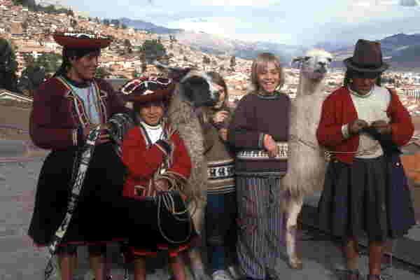 Händlerinnen, Cusco, Peru