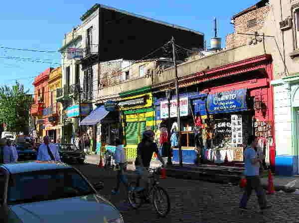 Buenos Aires, Altstadt