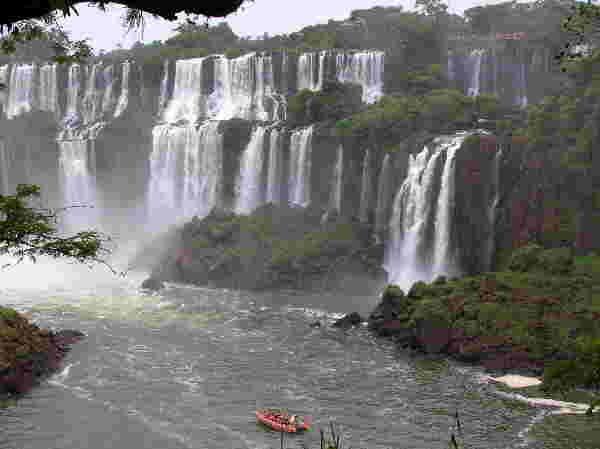 Iguazú-Wasserfälle, Argentinien/Brasilien