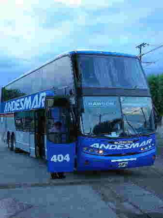 Überlandbus, Argentinien