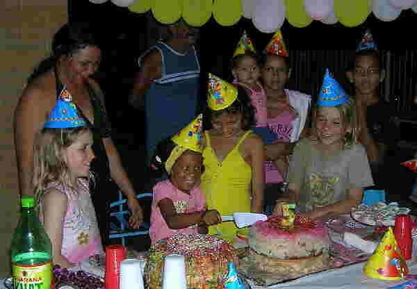 Kindergeburtstag, Jacaré, Brasilien