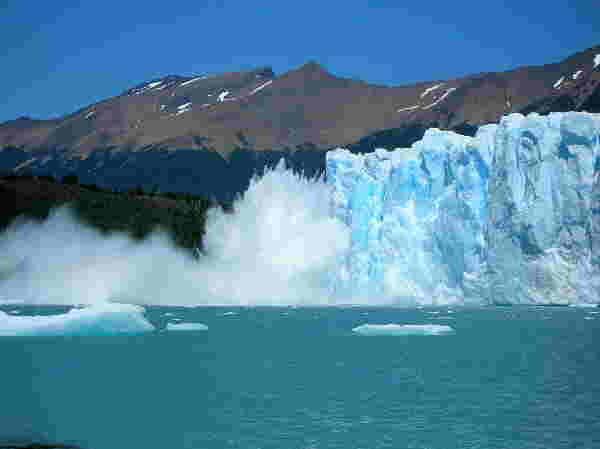 Glacier Perito Moreno, Argentinien