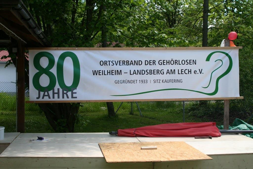 80 Jahre Ortsverband der Gehörlosen Weilheim-Landsberg am Lech e.V.