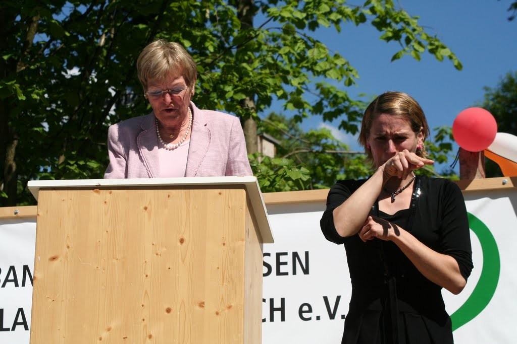 Ansprache von stellv. Landrätin von Landsberg am Lech