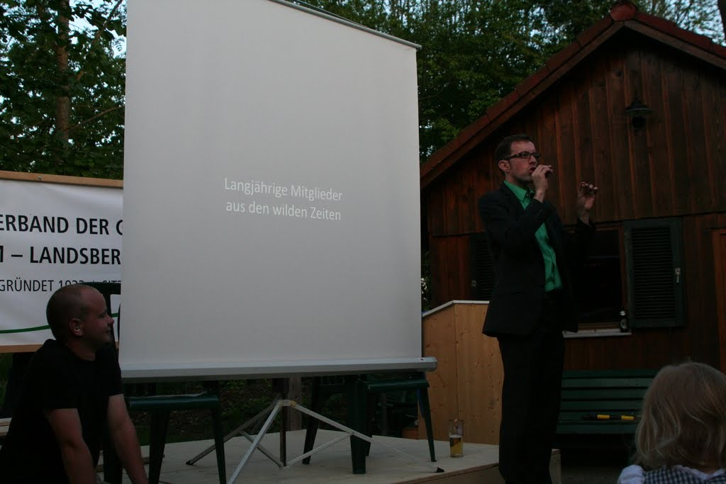 Präsentation, Erraten der damals noch jungen Mitglieder