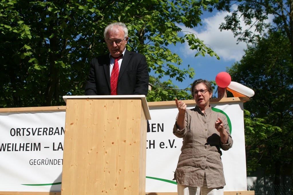 Ansprache von Dr. Klaus Bühler, ehem. Bürgermeister Kauferings