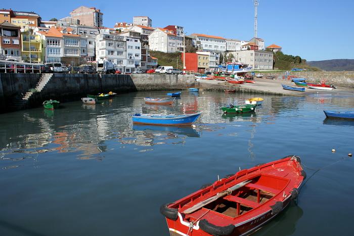 Fisteros žvejų uostas / Foto: Kristina Stalnionytė