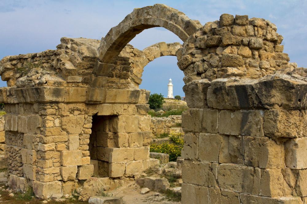 Nea Pafos antikinio Pafoso griuvėsiai - Naujasis Pafas