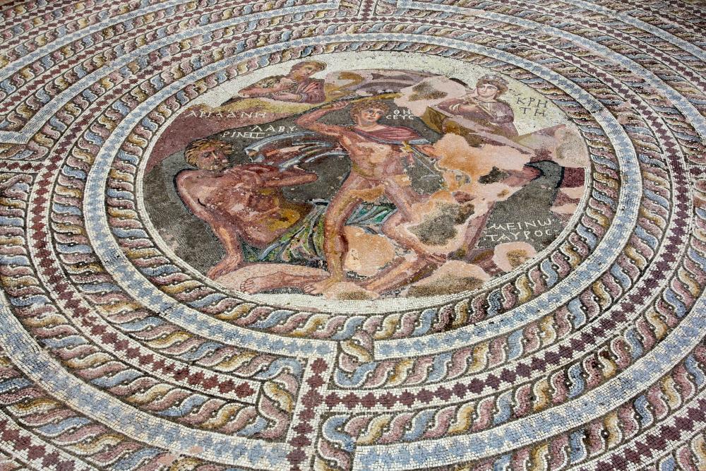 Pafoso rūmų mozaikos Kipre