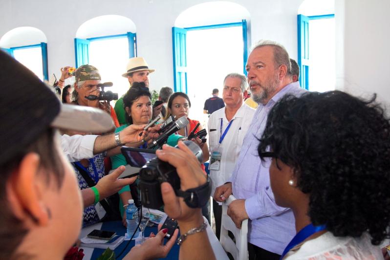 Pasak Kubos turizmo ministro Manuel Marrero Cruz, Viljos Klaros salos - labiausiai augantis turizmo regionas / Foto: Kristina Stalnionytė