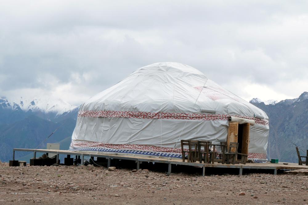 Staso jurta Talgaro perėjoje - Tian Šanio priekalnės