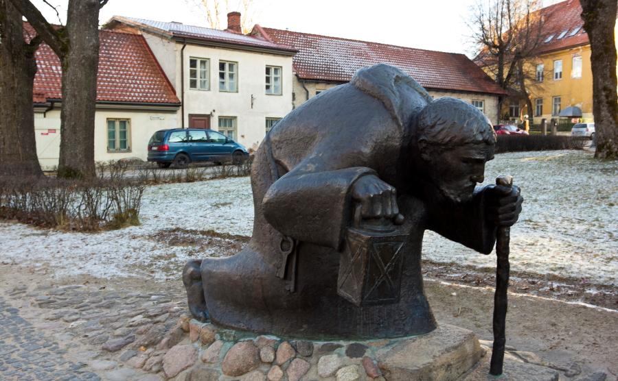 Cėsių miesto sargas / Foto: Kristina Stalnionytė