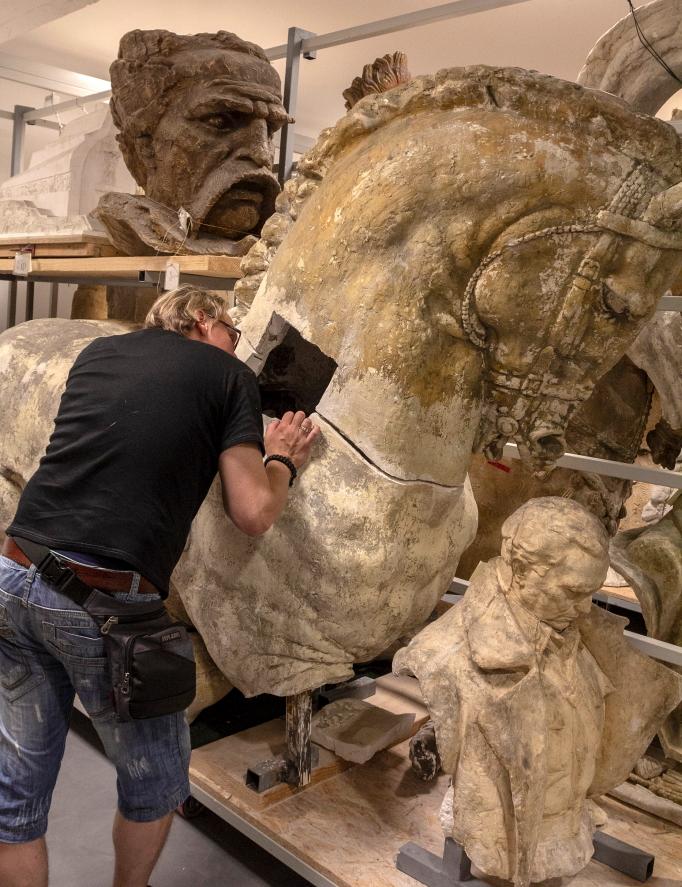 Skulptoriaus Antuno Augustinčičiaus muziejaus archyvuose Klanece