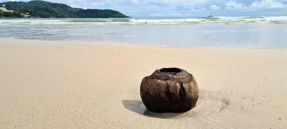 Paplūdimys prie Andamanų jūros Tailande