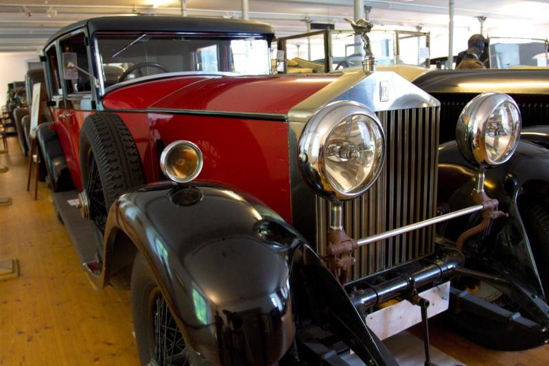 Dornbirno Rolsroisų muziejaus eksponatai ir šiandien tinkami važiuoti