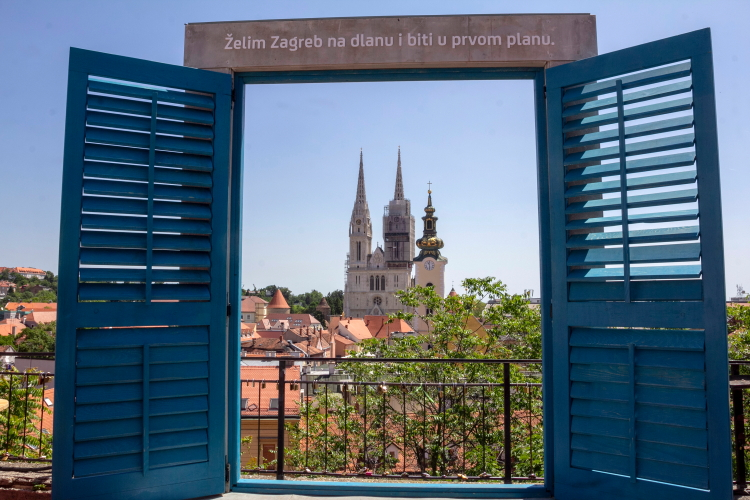 Langas į Zagrebo katedrą