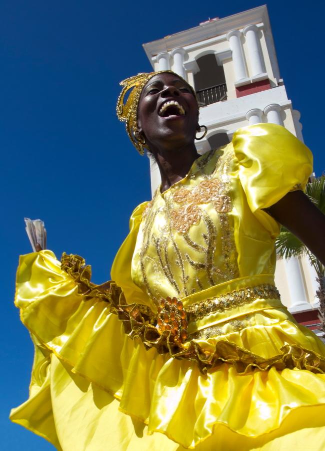 Rumbos šokėja Kuboje