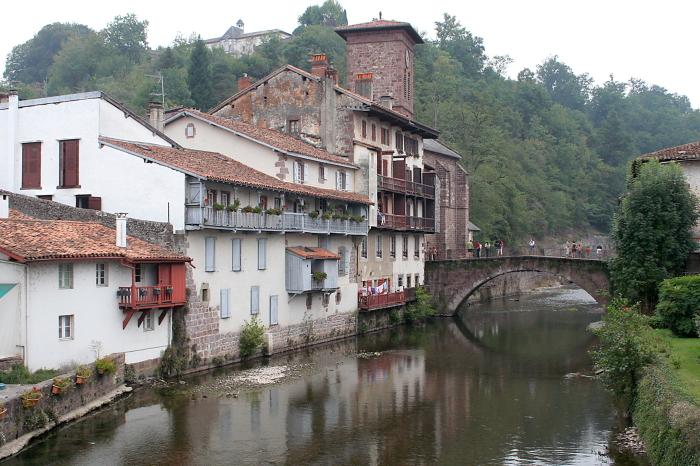 Sen Žan Pjė de Poro miestelis piligrimų kelyje