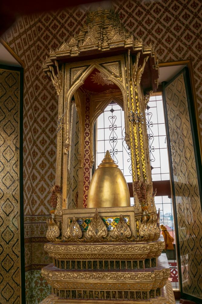 Aukščiausiame Metalinės pilies bokštelyje saugomos Budos relikvijos