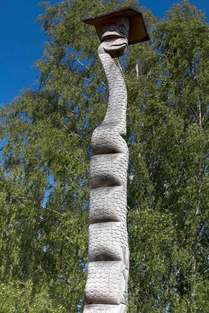 Skulptūra Vyžuonų žaltys