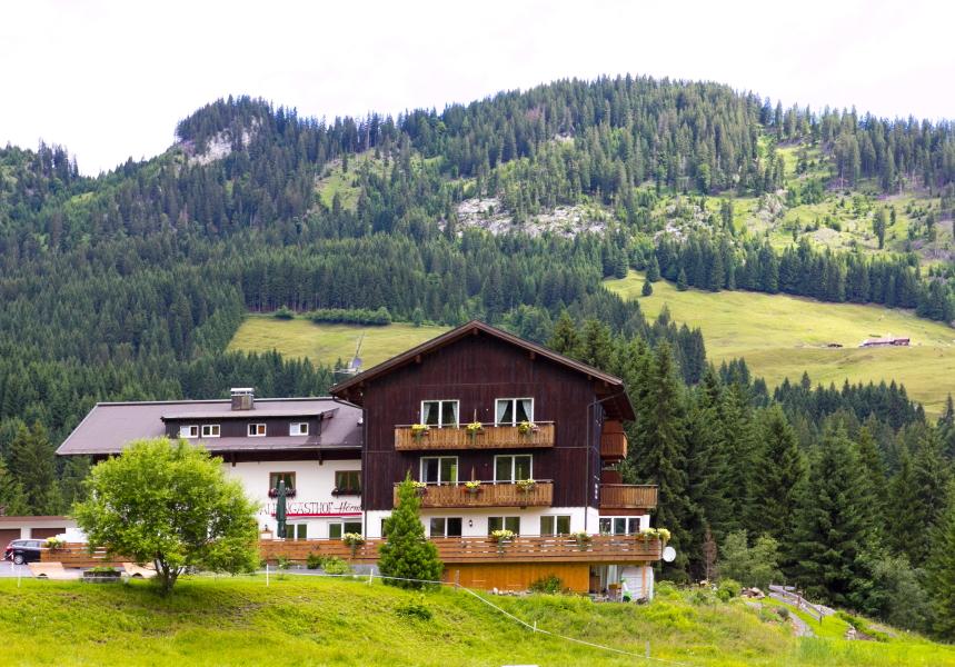 Kleinwalsertal Alpengasthof Hörnlepass svečių namai prie Riezlern