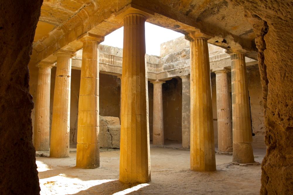 Požeminiai Karalių kapai Pafose Kipre