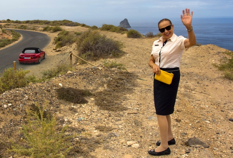 Margarida Pecas iš Vila Baleira SPA viešbučio Porto Santo saloje Portugalijoje