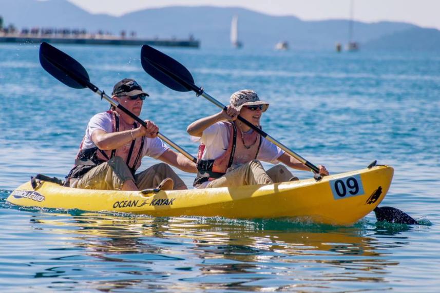 Baidarių aržybos / Foto: Zadar Outdoor Festival