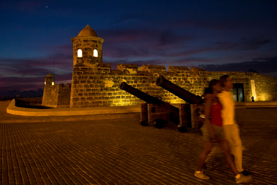 Senąją Havaną nuo piratų saugojo trys tvirtovės / Foto: Kristina Stalnionytė