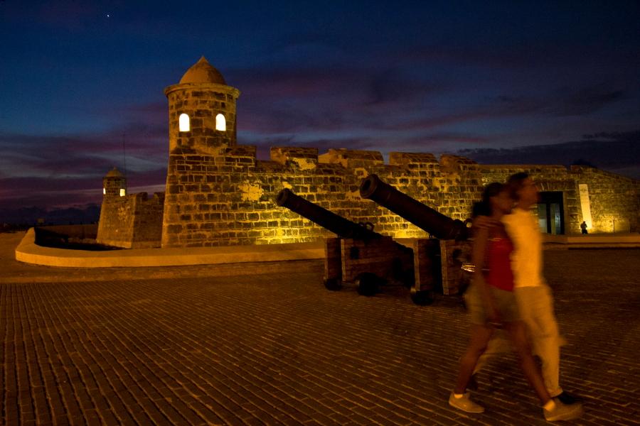 Senąją Havaną nuo piratų saugojo trys tvirtovės ir daug patrankų