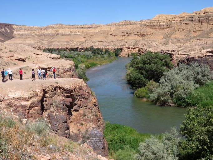 Šaryno tarpekliu teka Šaryno upė