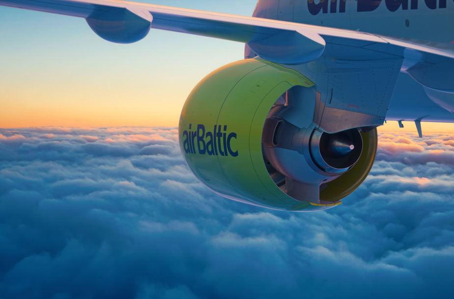 Air Baltic lėktuvas