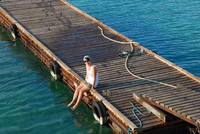 桟橋です。