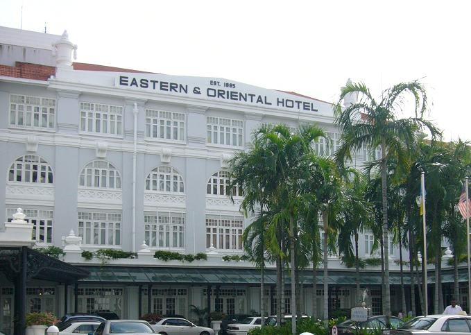 イースタン&オリエンタル・ホテルに行けば。