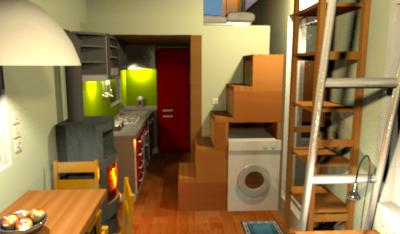 Einer meiner neuesten Entwürfe für ein Tiny House